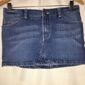 Authentic Jean Skirt